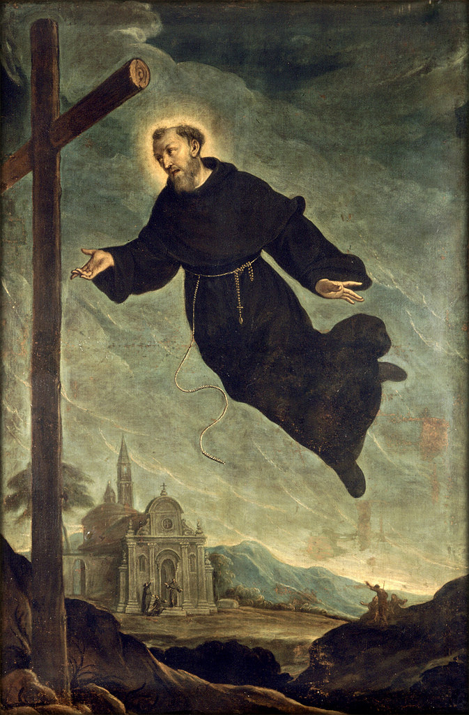 Iconographie chrétienne : Joseph de Cupertino